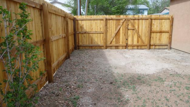 Summit Fence Company A Colorado Springs Fence Contractor Cedar Fence Installation